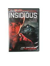 INSIDIOUS DVD 2010 PG 13 HORROR