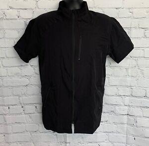 Black STYLIST BARBER JACKET Coat Hair Water Resistant LARGE