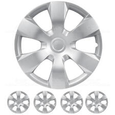 """New 4 PC Set Silver Hub Caps for Toyota Camry 16"""" ABS Rim Wheel Cover"""