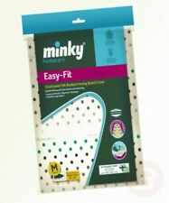 Minky Easy Fit Medium Ironing Board Cover, Fits Boards Up to 110 x 35 cm