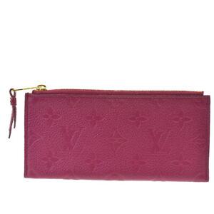 Authentic LOUIS VUITTON Coin Case Wallet Monogram Empreinte Purple Spain 69BQ630