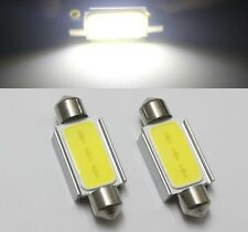 2pcs 36mm C10W WHITE Festoon CANBUS COB LED SMD PLASMA interior bulb 12v dc
