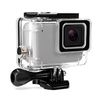 Super Housing Case GoPro Hero 7 Silver White Waterproof Case Suit Accessories
