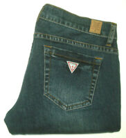 GUESS WOMENS SIZE 27 MEASURED W30 X L33 STARLET SKINNY LEG BLUE JEANS FREE POST