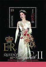 Grenada- Coronation of Queen Elizabeth ll Stamp- Souvenir Sheet MNH