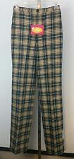 Vintage Pendleton Pants Plaid Virgin Wool Macsheehy Irish Tartan 7 8 USA New NWT