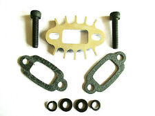 BAJA EXHAUST SPACER / HEATSINK AND GASKETS,  COMPATIBLE WITH HPI BAJA 5B/SS