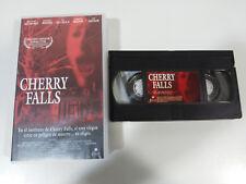 CHERRY FALLS GEOFFREY WRIGHT VHS CINTA TAPE CASTELLANO TERROR HORROR