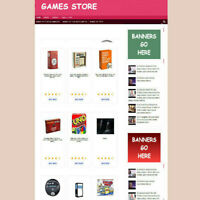 CHILDS GAMES WEBSITE & UK AFFILIATE STORE - NEW DOMAIN - HOSTING  FULLY STOCKED
