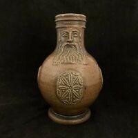 Bellarmine Bartmann Jug Frechen Salt Glazed German Stoneware Circa 1650?