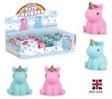 UNICORN BATH SQUIRTER Squirt Toy Kids Girls Baby Water Play Favor Birthday Gift