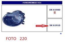 61910 FARO FENDINEBBIA (FOG LAMPS) SX AUDI A8 11/2002->