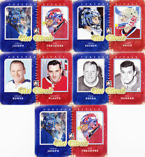 11-12 ITG Johnny Bower Jacques Plante Net Forever Rivals 12-13