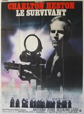 THE OMEGA MAN 1971 Charlton Heston French 47x63