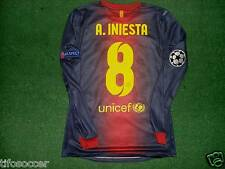 Iniesta Barcelona C.L 2012-2013 Match Unworn Shirt And Signed