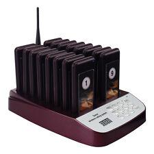 999CH wireless con 16 *cercapersone chiamata Coaster per Restaurant Paging it