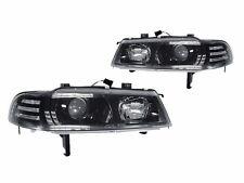 DEPO 92 93 94 95 96 Honda Prelude JDM Black Projector Headlights Head Lamp Pair