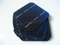 40pcs 5x5 125x125mm high power mono solar cells DIY 100W solar panel Charger