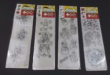 Christmas Delta Paint n Press Paint in Transfers Kit 4 Pack New Sealed