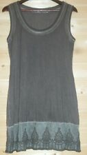 LADIES BOTTEGA/ELISA CAVALETTI SLEEVELESS STRETCH VISCOSE DRESS SIZE M  ITALY