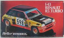 Heller 80173 - RENAULT R5 TURBO - 1:43 - Auto Modellbausatz -Model Kit - NEU