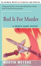 Red Is For Murder: A Patrick Hardy Mystery (Patrick Hardy Mysteries)