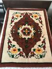 """Hand Woven Traditional Bulgarian Kilim Rug-Bed-Wall Decoration,55"""" by 76"""""""