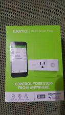New Wemo Mini Smart Plug Wi-Fi Enabled - White Nib