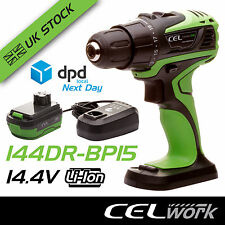 CEL 14.4V Li-Ion Cordless Drill/Driver Tool with Battery + Charger