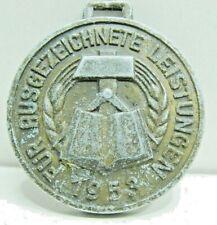 Medaille f. ausgezeichnete Leistungen 5jahrplan 1953 ohne Bandspange