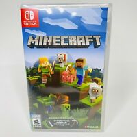 Minecraft Nintendo Switch 2018 Brand New Factory Sealed Free Shipping