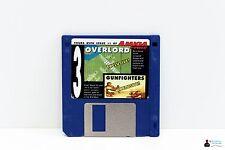 "Commodore AMIGA 3,5"" Spiel - OVERLORD, GUNFIGHTERS - Amiga Power Disk 45"