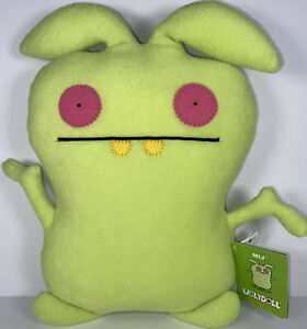 "Pretty Ugly, LLC UGLYDOLL MIJ 12"" Classic Green Figure Plush Stuffed Toy DOLL"