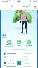 Pokemon compte aller niveau 40