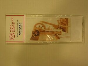 Scale Structures Ltd - Clark 150HP Steam Engine - Kit #9104 - HO Scale