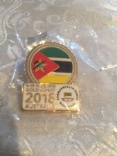 Commonwealth Games Team Badge Mozambique Gold Coast 2018