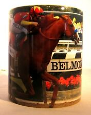 Unique Coffee Mug Justify Mike Smith Belmont Win Triple Crown Photo Print on cup