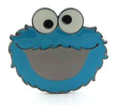 Cookie MONSTER Fibbia della Cintura SESAME STREET Geek Retrò Regalo Bambini FIT Snap Cintura ST