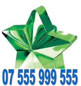 UNIQUE EXCLUSIVE RARE GOLD EASY VIP MOBILE PHONE NUMBER SIM CARD> 07 555 999 555