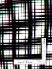 Loralie Checkered Fabric - Geometric Check Black White 805 Loralie Harris - Yard