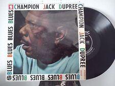 LP 25 cm CHAMPION JACK DUPREE-BLUES-STROLLIN' + 7