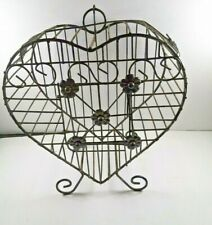 Metal Vintage Heart Cage