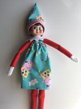 CHRISTMAS ELF GIRL DOLL- TUBE DRESS OR LONG SKIRT & HAT SET - PEPPA PIG