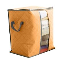 Foldable Clothes Blanket Quilt Closet Sweater Storage Bag Organizer Box Pouches