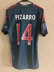Germany bayern Munich Player Issue Jersey Formotion Pizarro Football Peru Shirt