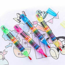 2 Pcs/lot Paint Drawing Crayon Pen 20 Colors Kids DIY Art Supplies Painting Gift
