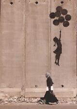 BANKSY POSTER (42x59cm) BALLOONS IN GAZA NEW ART
