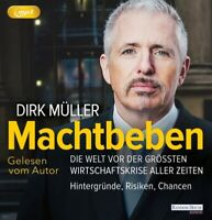 DIRK MÜLLER - MACHTBEBEN  2 MP3 CD NEW