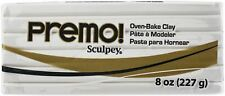 Premo Sculpey Polymer Clay 8oz-White -PE08-5001