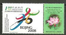 Macau - Vergabe olympischer Sommerspiele Peking postfrisch 2001 Mi. 1153